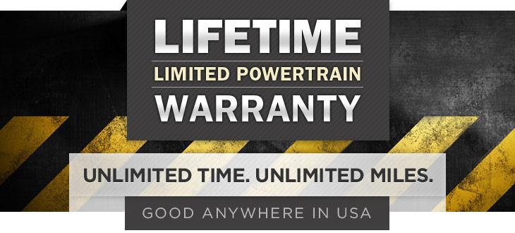 Powertrain Warranty Coverage >> Lifetime Warranty