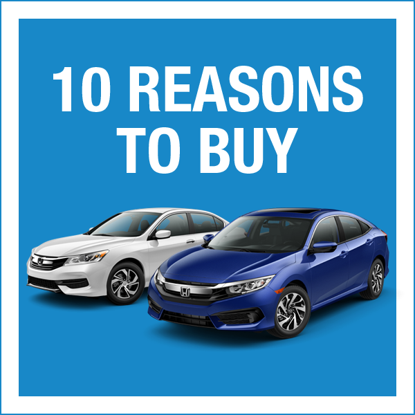 10 Reasons to Buy from Honda World in Louisville, KY