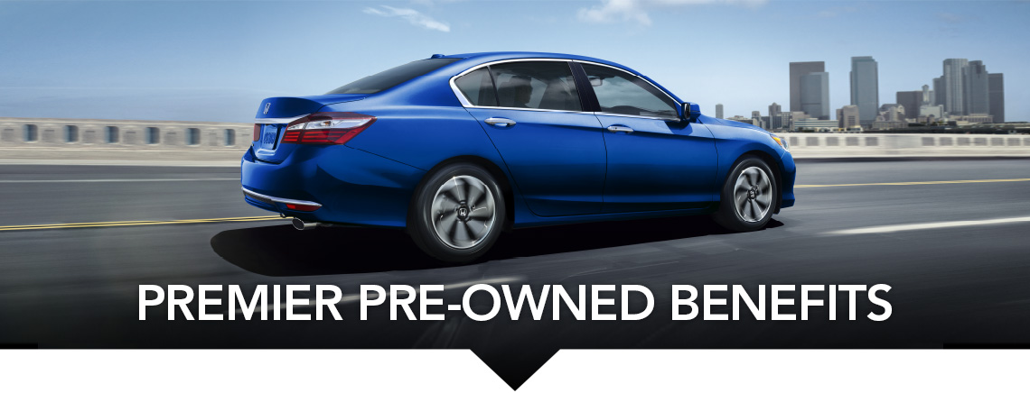 Premier Pre-Owned Benefits